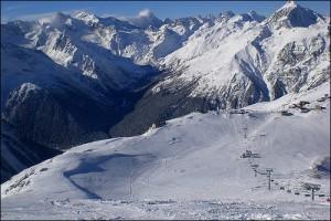 Caucasas, Russia Ski Resort