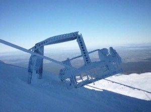 Mt Ruapehu Lift Tower