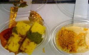 Airline food - fail