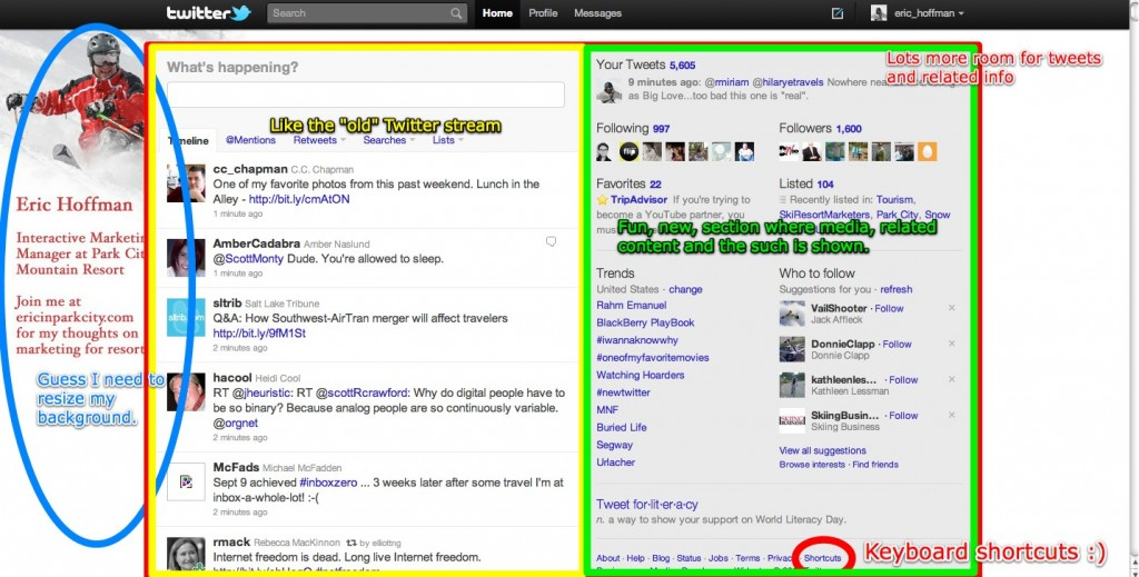 NEW Twitter screen capture