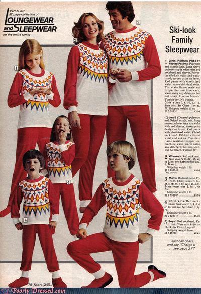 Ski sweater family